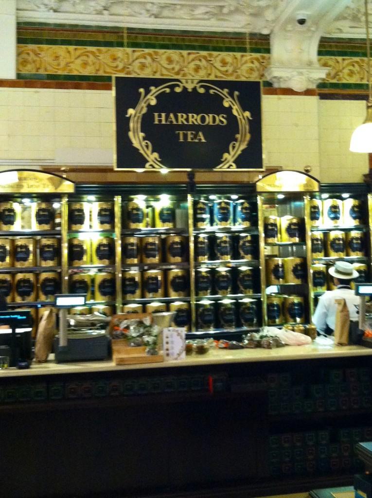 Teatime at Harrods