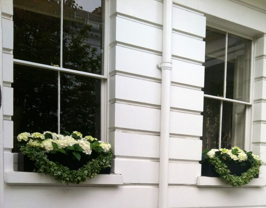 London Flower Window Box